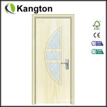 Economical Interior PVC Wooden Door Design (PVC wooden door)