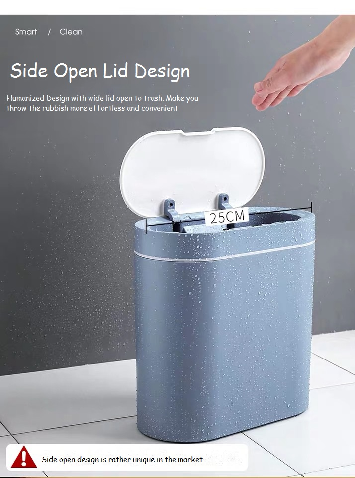Oval Side Open Litter Can