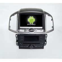 Cuatro núcleos! DVD de coche con espejo enlace / DVR / TPMS / OBD2 para 8 pulgadas de pantalla táctil de cuatro núcleos 4.4 sistema Android CHEVROLET CAPTIVA