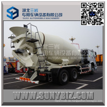 HOWO 10 Wheeler 12 Cbm Zementmischer LKW