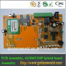 ensemble rigide de carte PCB de feu Contrôleur de feu de circulation pour l'Assemblée de carte PCB