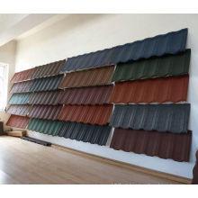 Telhado de pedra-revestido do metal para a venda (fabricante)