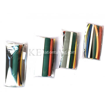 Kit de tubos termoencogibles de colores de pared delgada 13PCS