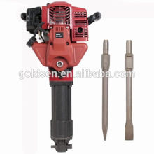 1700w 2.4HP 52cc Professional Gosoline Jack Hammer Machine Mini Gas Breaker Hammer GW8192