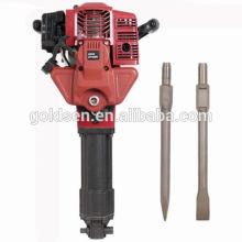 1700w 2.4HP 52cc Gasolina Jack Hammer Handheld Mini Gasolina Rock Breaker