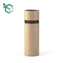 Dairy corrugated kraft brown color carton tube box
