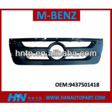 Parrilla de calidad excelente para mercedes benz partes de carrocería parte MERCEDES BENZ TRUCK rejilla 9437501418
