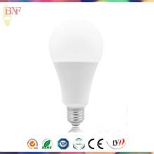 7W / 9W / 12W / 15W LED A70 ampoule d'usine thermo-plastique avec PC E27