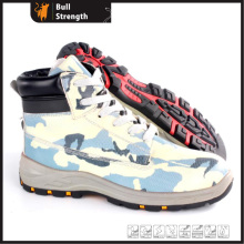 PU/Rubber Outsole Hiking Safety Shoe with Steel Toe (SN5389)