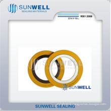 Standard Spiral Wound Gaskets Inner and Outer Rings Type