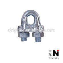 rigging fasteners heavy duty wire rope clips with zinc plated