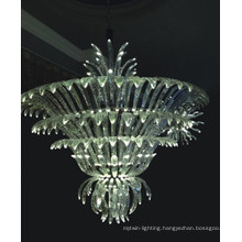 High Quality Transparent Crystal Pendant Lamp for Hotel Project