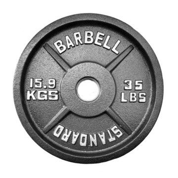 Cast iron weight plate Weight Lifting Discs gym equipment fitness weight plate barbell