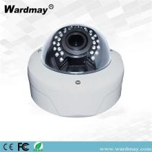 OEM vandaalbestendige 4.0 / 5.0MP CCTV IR Dome IP-camera