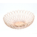 Multipurpose Household Decoration Most Popular Stainless Steel Wire Bowl Storage Vegetable Baskets Fruit Basket