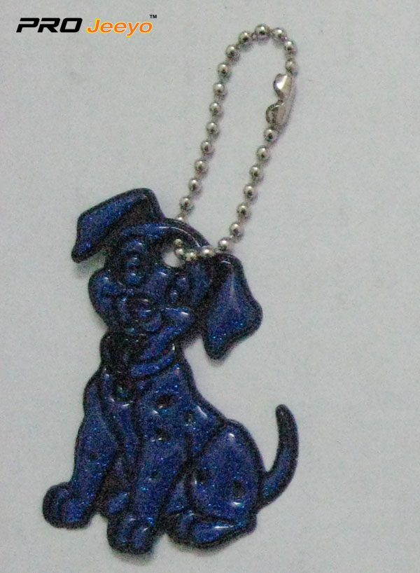 Reflective Pvc Dog Key Chain Rv 214 1