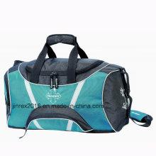 Popular Polyester Sports Travel Gym Fitness Shoulder Duffle Sports Bag