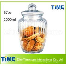 Bidon de biscuits Snacks à biscuits à gros biscuits de 2000 ml