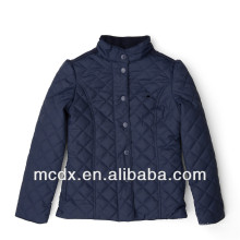 quilted woman winter padded jacket for european
