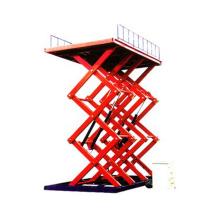 table élévatrice pneumatique à ciseaux