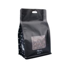 Stand up Animal Feed Flat Bottom Packaging Bag Pet Food Packing Bag Aluminum Foil Recycle Zip Lock Bag