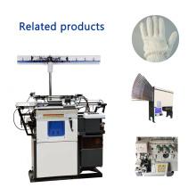 2017 máquina de hacer punto automática vendedora caliente del guante del algodón de la seguridad del precio de alta calidad HX-305 de la calidad