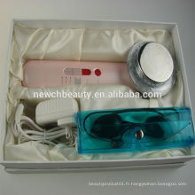 Dispositif de renouvellement de la peau galvanique aux photons à ultrasons appareils fabricants de produits de beauté