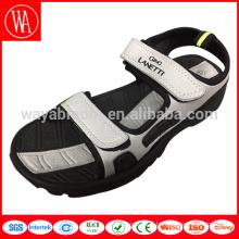 2017 Chine dernière nouvelle conception sandale pour hommes, chaussures de sandale pour hommes bon marché en gros, sandales de sport d'été en caoutchouc tpr hommes