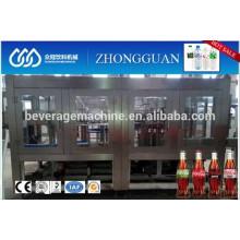 Máquina de llenado de agua de soda Monoblock 3in1 / Línea de producción Elección de calidad