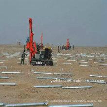 Tornillos de tierra de montaje solar galvanizado de alta DIP