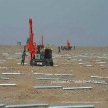 Tornillos de tierra de montaje eléctrico galvanizado caliente DIP
