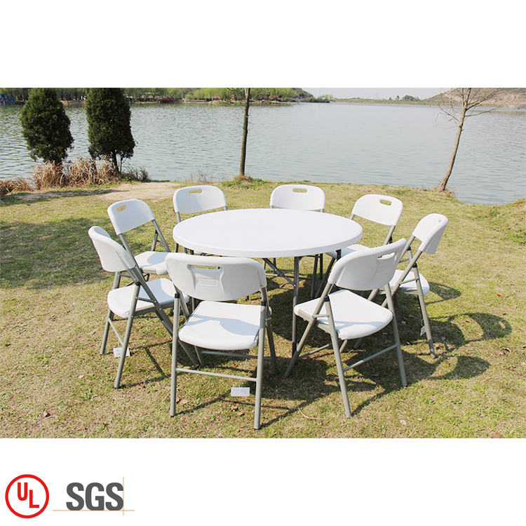 4FT Round Folding Table