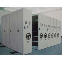 Китай горячий продавать q235 стальной передвижной металлической библиотеки системы вешалки подачи кабинета