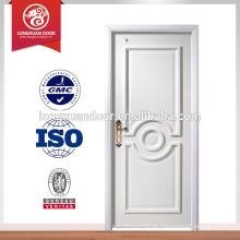 Puerta interior de MDF, diseño de puerta de madera, precio puerta MDF