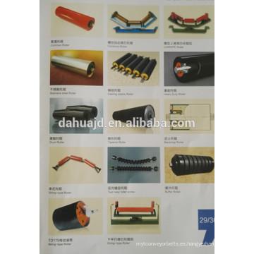 Uso de la industria de fundición de rodillos de plástico