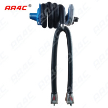 AA4C  car exhaust extracting system auto  gas collecting hose reel Vehicle Exhaust Emission manually electrical controlled