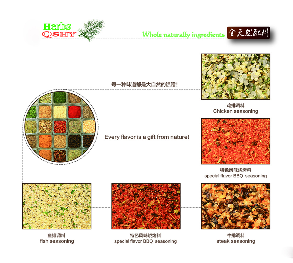Grinding Seasoning Series