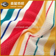 Tissu en maille de nylon tricoté pour impression de produit chaud 2019