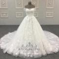 Dernières mariée une ligne en gros hors épaule Design robes de mariée
