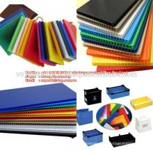 Factory custom white pp plastic corrugate board /hollow sheet +84966832808