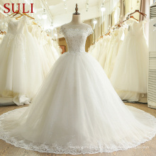 SL-436 Nuevo Alibaba nupcial China vestido de boda por encargo 2017