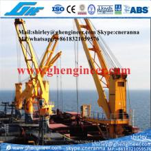Экскаваторный баржевой кран для перевалки наливных грузов