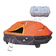 15person person davit launched inflatable life raft marine liferaft