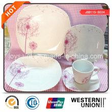 Nouveau Design Fine Dinner 18pcs Porcelain Set