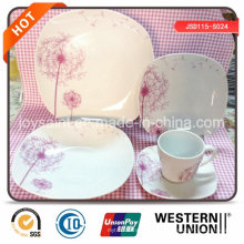 New Design Fine 18PCS Porcelain Dinner Set