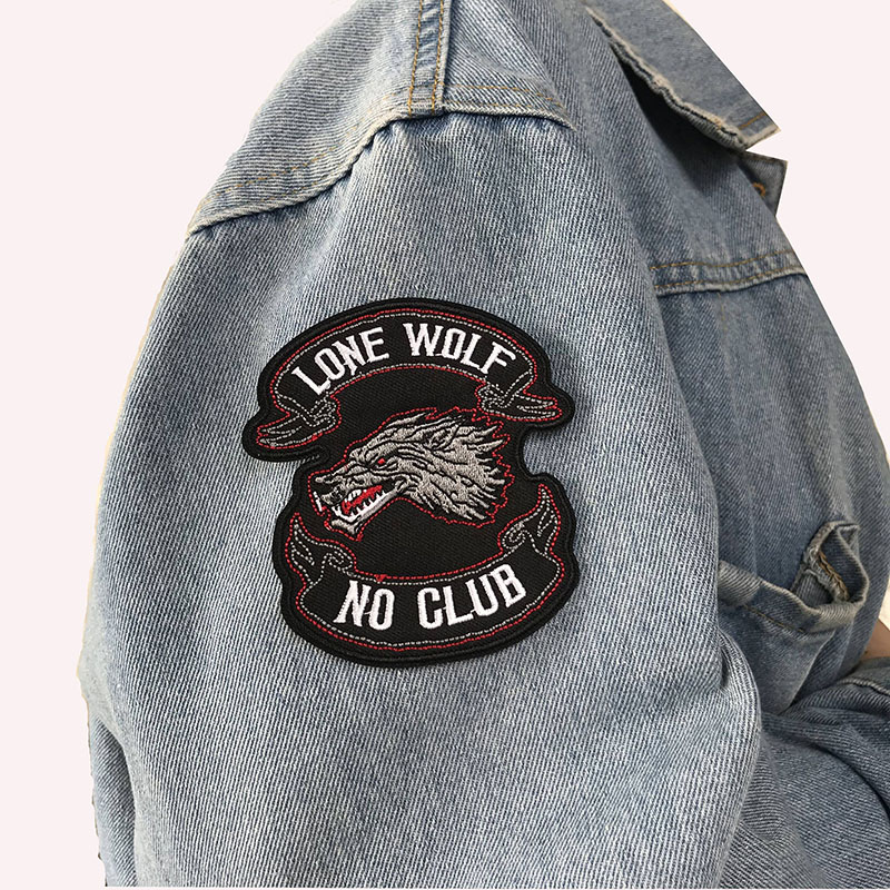 Punk Motorcycle Embroidery