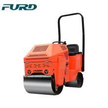 Mini rolo compactador com duas máquinas para construção de estradas FYL-860