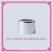 18mm glänzender silberner Aluminiumkragen für Flaschen