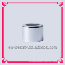 18mm shiny silver aluminum collar for bottles