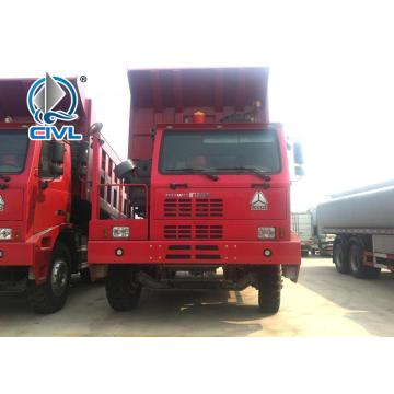 Camion à benne basculante commercial 30-50T SINOTRUK HOWO